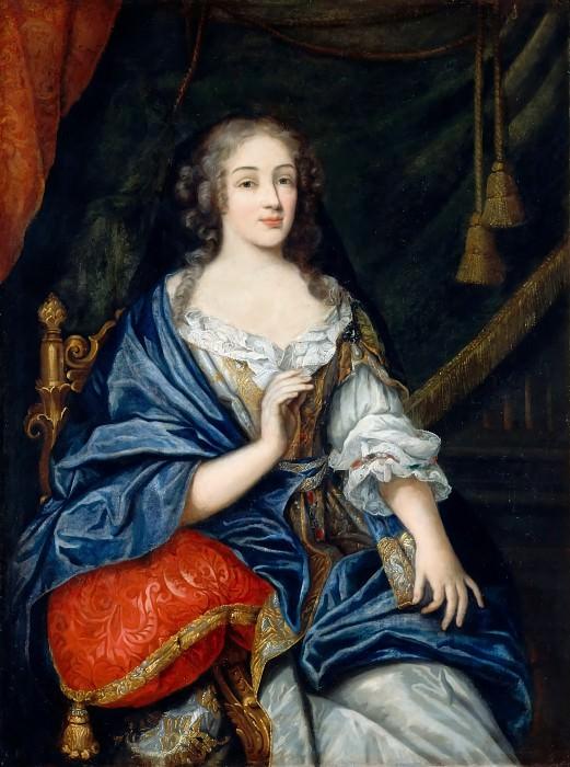 Jean Nocret I -- Louise-Francoise de la Baume le Blanc, Duchesse de la Valliere and de Vaujours (1644-1710). Château de Versailles