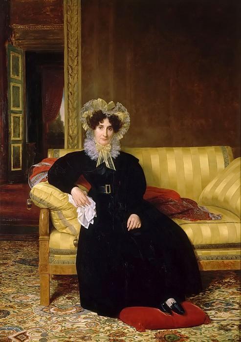 Louis Hersent -- Madame Jean-Charles Clarmont (née Rosalie Favrin). Château de Versailles