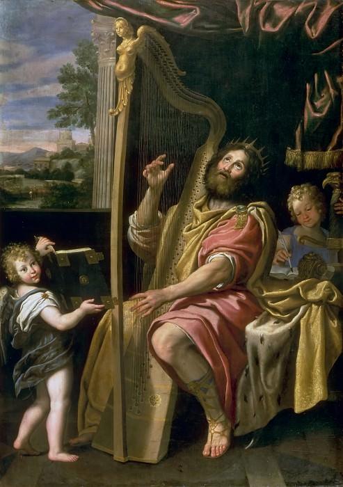 Domenichino -- King David. Château de Versailles