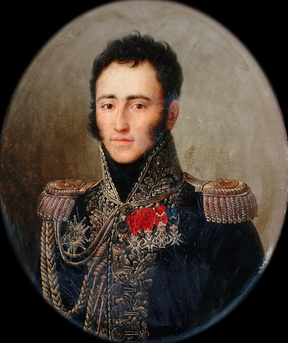 Франсуа-Жозеф Кинсон -- Эдмон де Перигор, герцог Таллейран, генерал-лейтенант. Версальский дворец