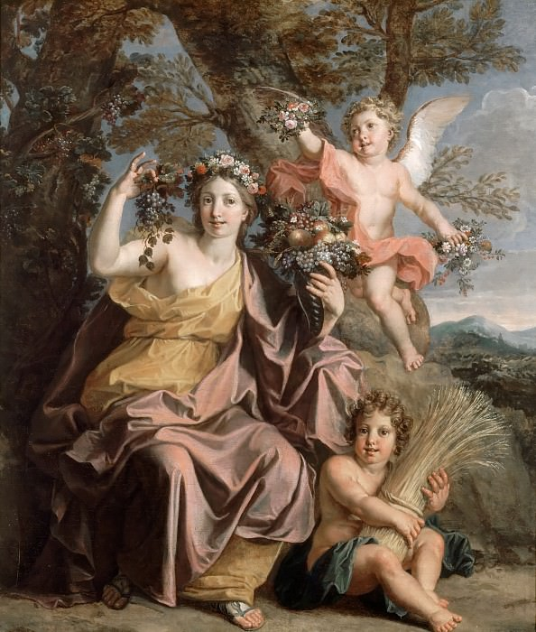 Noël Coypel -- Abundance. Château de Versailles