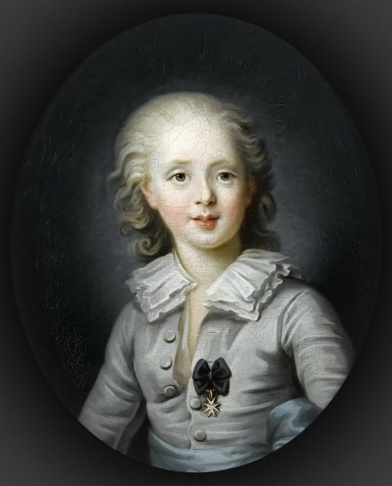 Louis-Antoine d'Artois, duc d'Angoulême -- Filleul, Anne-Rosalie. Château de Versailles