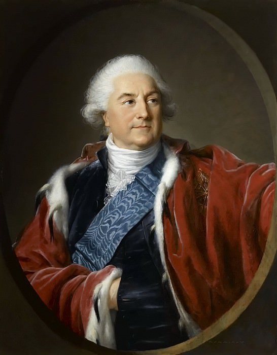 Stanislas-Auguste Poniatowski, roi de Pologne. Élisabeth Louise Vigée Le Brun