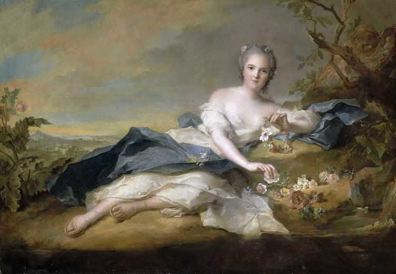 Jean-Marc Nattier -- Anne-Henriette de France, dite Madame Henriette. Château de Versailles