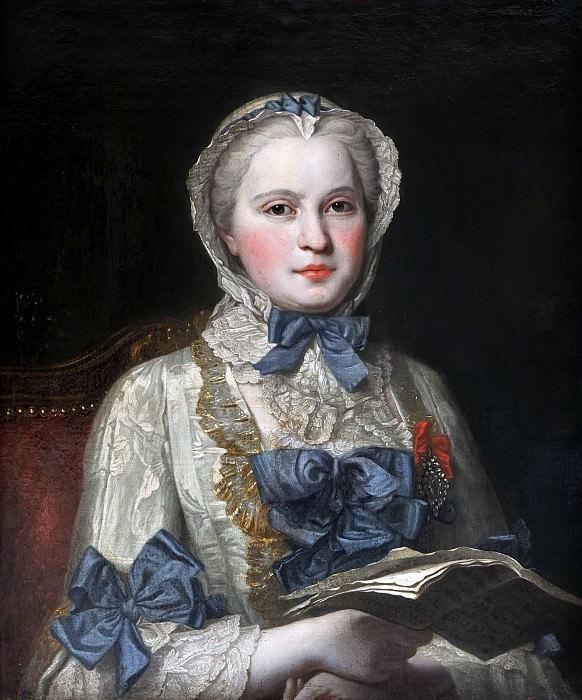 Морис-Кантен де Ла Тур -- Мария-Жозефина Саксонская. Версальский дворец