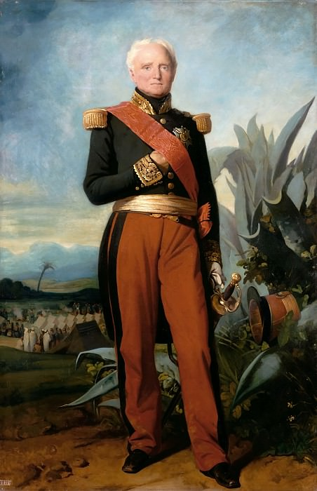 Charles Philippe Auguste Larivière -- Thomas-Robert Bugeaud de la Piconnerie, Maréchal of France in 1843, duc d'Isly in 1844, depicted as Govenor General of Algeria. Château de Versailles