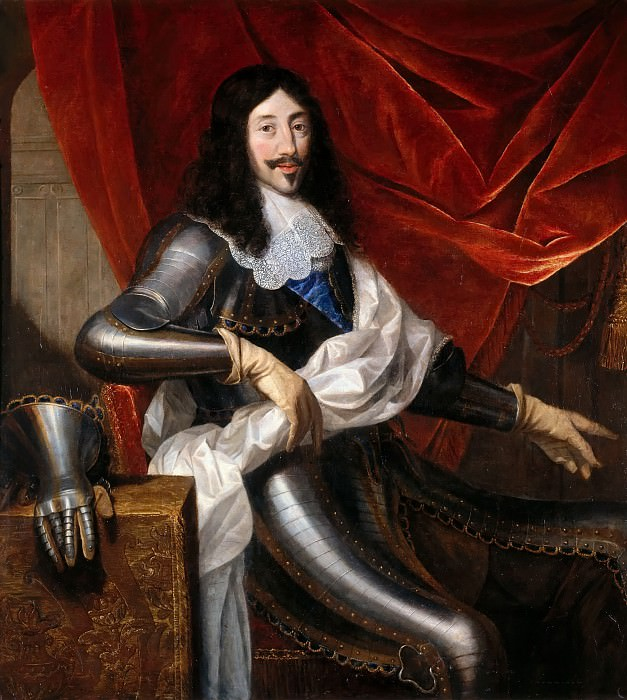 Justus van Egmont -- Louis XIII, King of France and of Navarre (1601-1643). Château de Versailles
