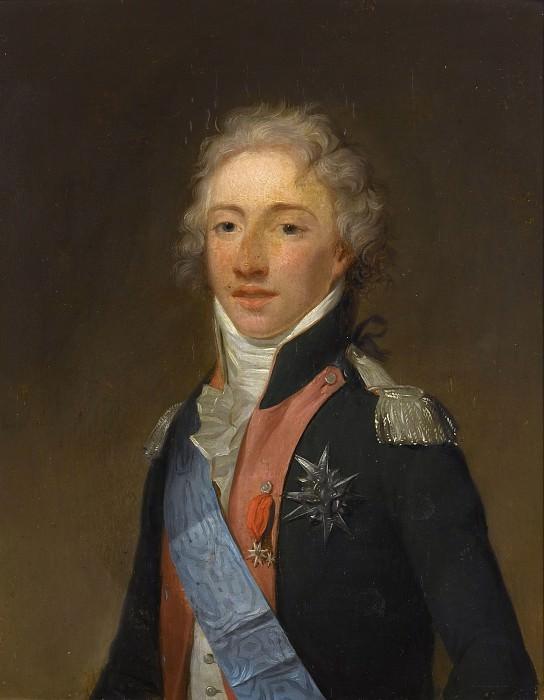 Danloux, Henri-Pierre -- Louis-Antoine d'Artois, duc d'Angoulême (1775-1844). Château de Versailles
