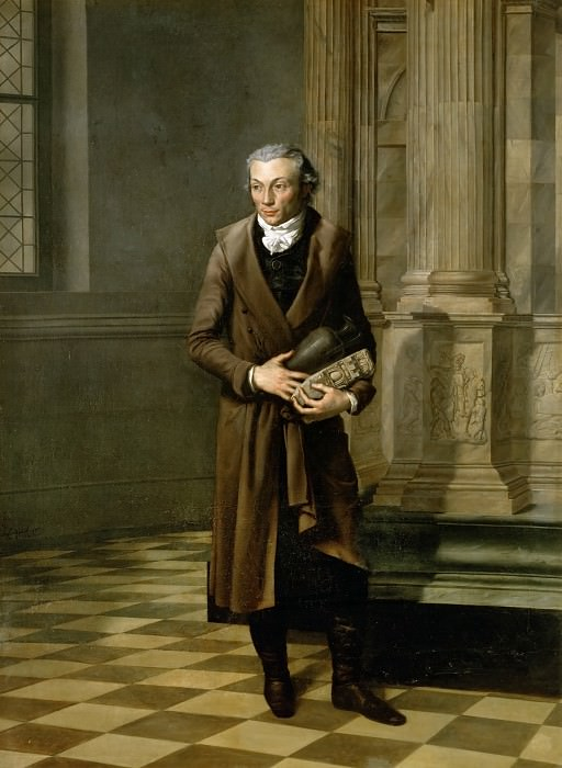 David, Jacques Louis -- Alexandre Lenoir, founder of the Musee des Monuments Francais. Château de Versailles