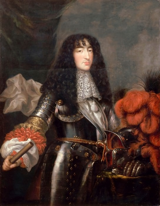 Attributed to Antoine Mathieu -- Philippe of France, Duc d'Orleans, called Monsieur (1640-1701). Château de Versailles