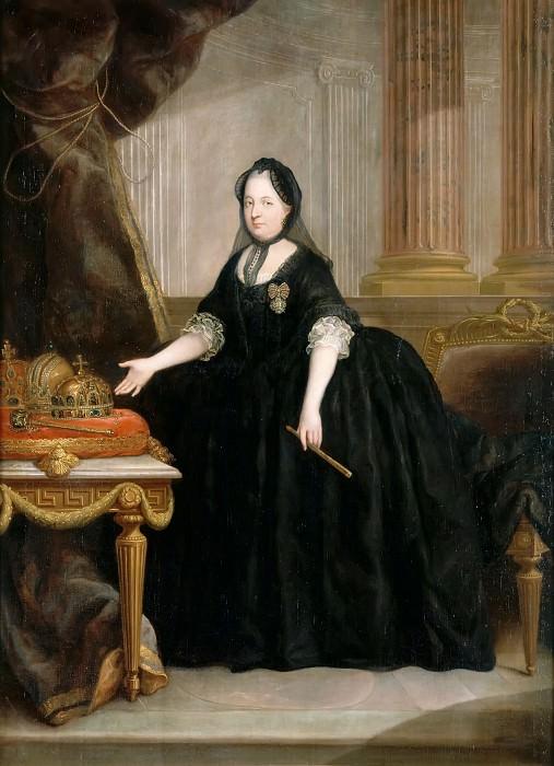 Антон фон Марон -- Мария-Тереза Габсбург (1717-1780), императрица Австрийская, королева Венгрии и Богемии. Версальский дворец