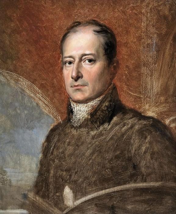 Франсуа Жерар -- Автопортрет. Версальский дворец