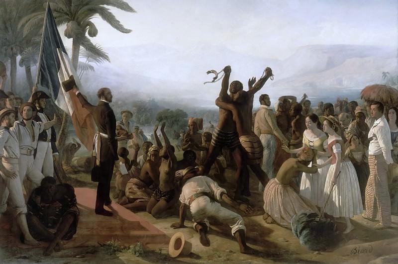 François-Auguste de Bear -- Proclamation de l'abolition de l'esclavage dans les colonies françaises, 1848. Château de Versailles
