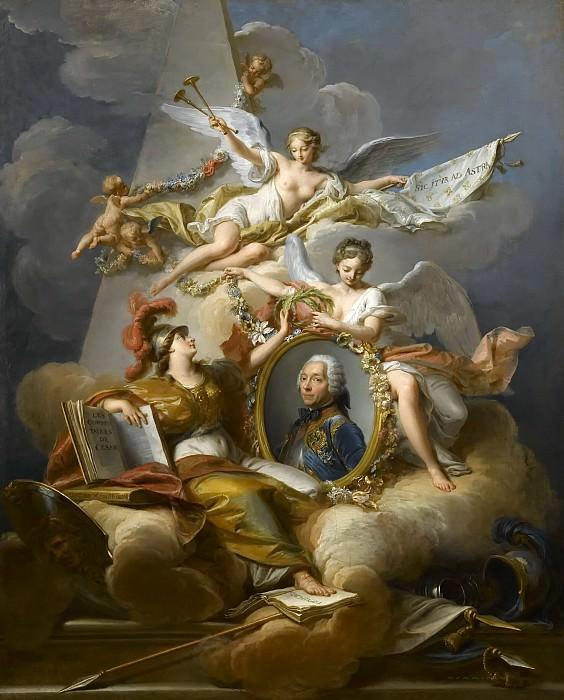 Jean Valadier -- Louis-Charles-Auguste Fouquet, duc de Belle-Isle. Château de Versailles