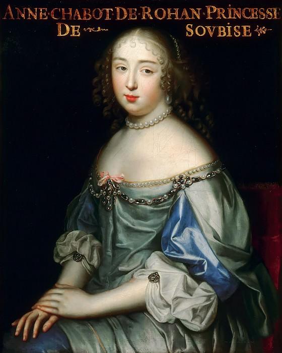 Charles Beaubrun, Henri Beaubrun the Younger -- Anne de Rohan-Chabot, Princess de Soubise, Dame du Palais of Queen Marie-Thérèse. Château de Versailles