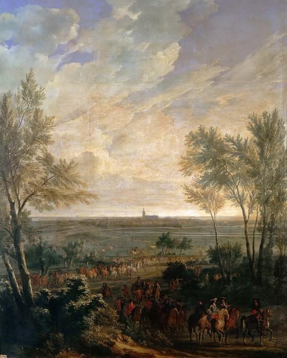 Жан-Батист Мартен -- Взятие Нардена 20 июля 1672 года. Версальский дворец