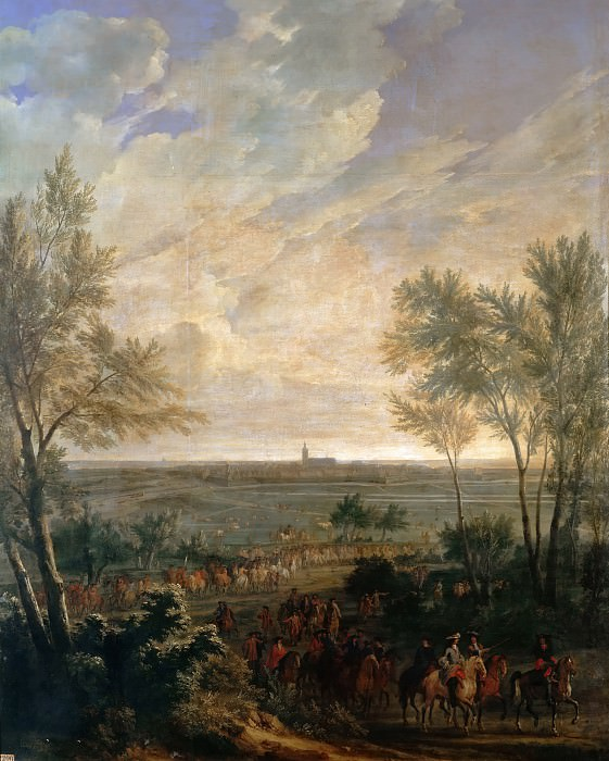 Jean-Baptiste Martin the elder -- Taking of Naerden, 20 July 1672. Château de Versailles