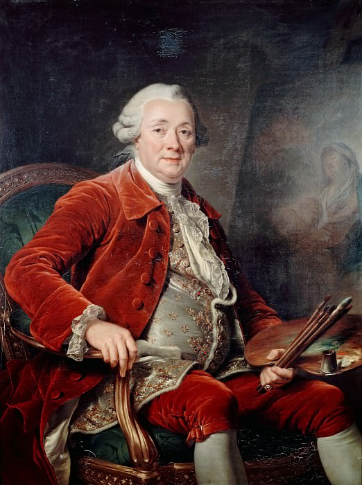 Adélaïde Labille-Guiard -- Charles Amédée Philippe Van Loo. Château de Versailles