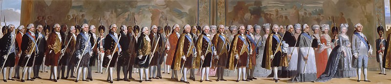 Louis Boulanger -- Procession of the deputies of the estates general at Versailles May 4, 1789. Château de Versailles