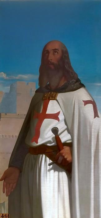 Эжен-Эммануэль Амори-Дюваль -- Жак де Моле, гроссмейстер ордена тамплиеров. Версальский дворец