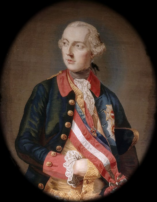Michel Henri Cozette -- Joseph II (1741-1790), Emperor of the Holy Roman Empire and of Austria, King of Hungary and Bohemia. Château de Versailles