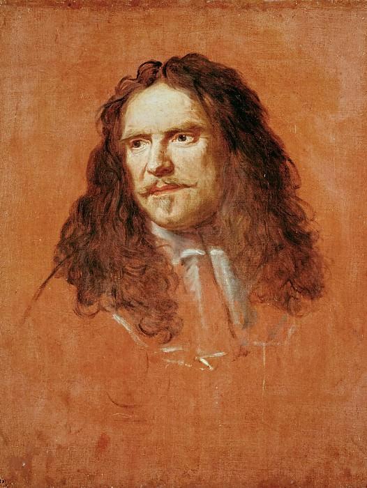 Шарль ле Брен -- Портрет Тюренна (1611-1675). Версальский дворец