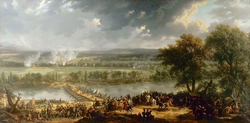Louis Albert Guislain Baclère d'Albe -- Battle of the Bridge at Arcole, November 16-17, 1796 (Bataille d'Arcole). Château de Versailles