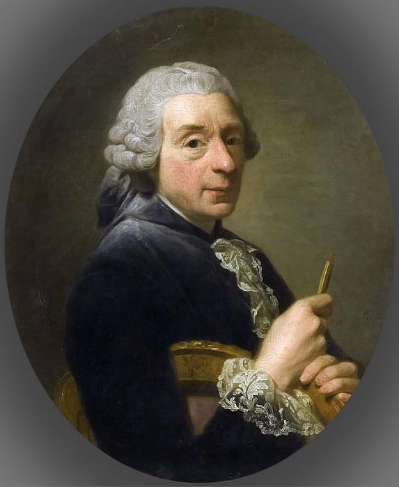 Alexander Roslin -- François Boucher. Château de Versailles