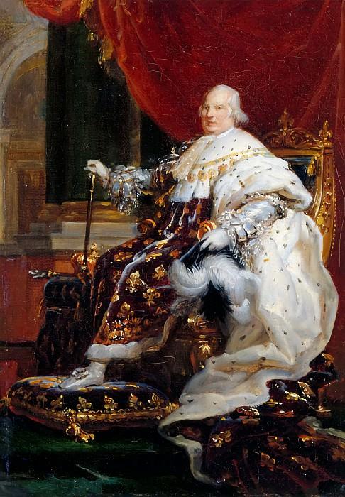 Baron François Gérard -- Louis XVIII, King of France and Navarre. Château de Versailles