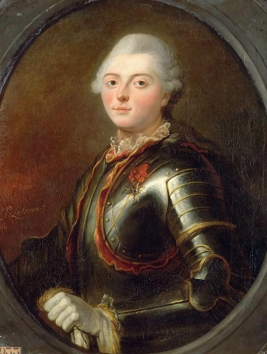 Жан-Батист-Пьер Лебрен -- Шарль-Анри-Виктор Теода, граф д'Эстен, генерал лейтенант королевской армии. Версальский дворец