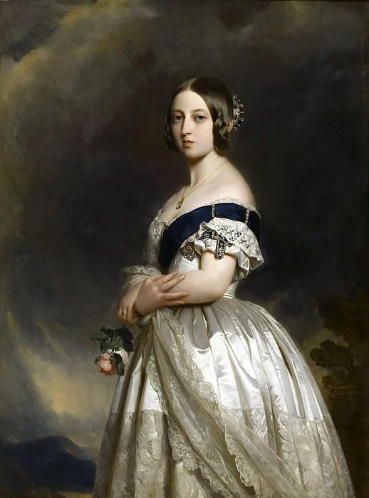 Winterhalter, Franz-Xaver -- Victoria Ière, reine de Grande Bretagne. Château de Versailles