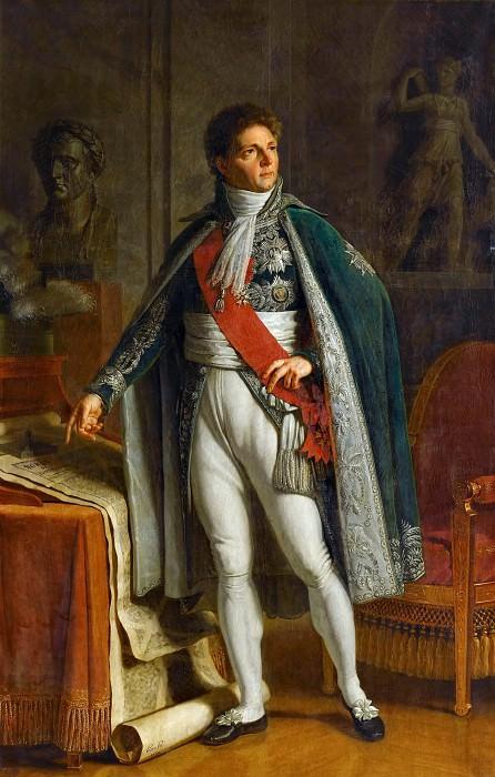 Jacques Augustin Pajou -- Louis-Alexadre Berthier, Prince of Neufchatel and of Wagram, Marechal of France (1753-1815). Château de Versailles