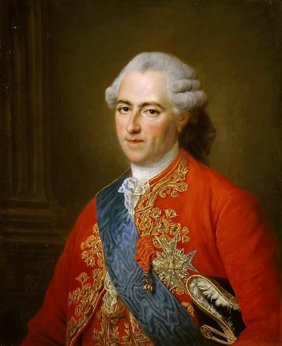 François Hubert Drouais -- Louis XV, King of France and Navarre (1710-1774). Château de Versailles