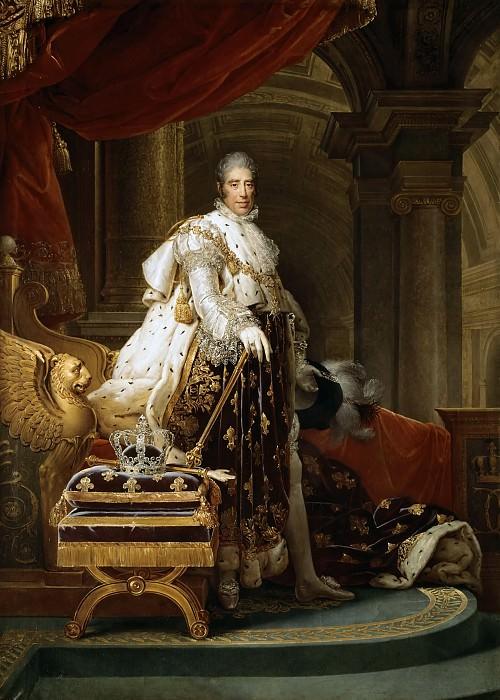 Baron François Gérard -- Charles X, roi de France. Château de Versailles