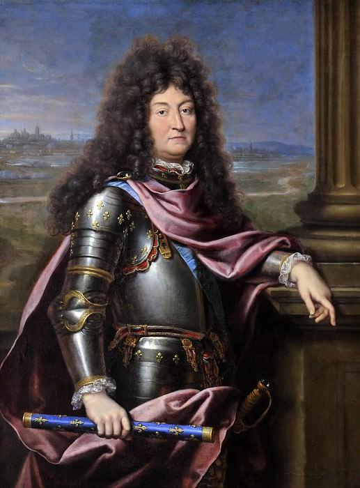 Mignard, Pierre -- Louis XIV, roi de France. Château de Versailles