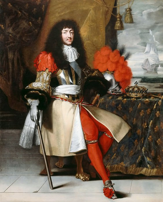 After Claude Lefebvre -- Louis XIV, King of France and Navarre. Château de Versailles