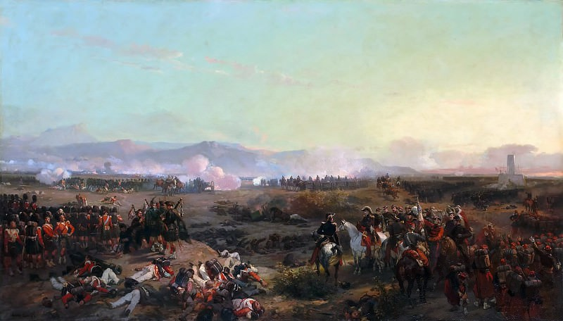 Eugène Louis Lami -- Battle of the Alma, September 20, 1854; Crimean War. Château de Versailles