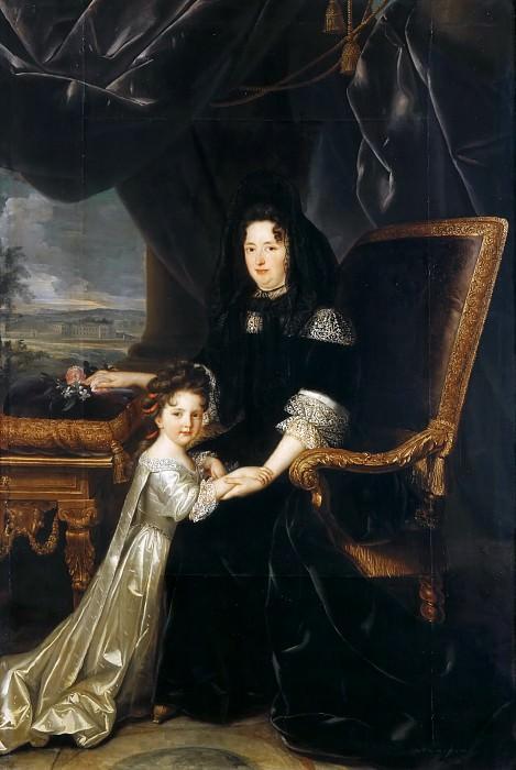Louis Elle -- Francoise d'Aubigne, Marquise de Maintenon (1635-1719). Château de Versailles