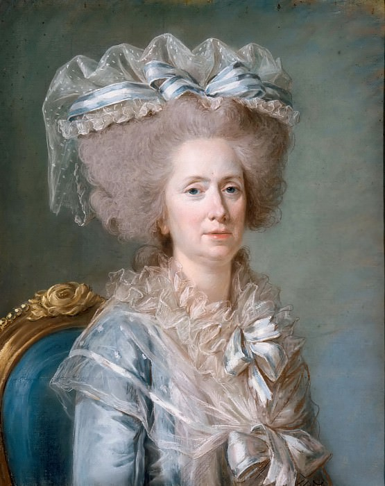 Adélaïde Labille-Guiard -- Marie-Adélaïde de France. Château de Versailles