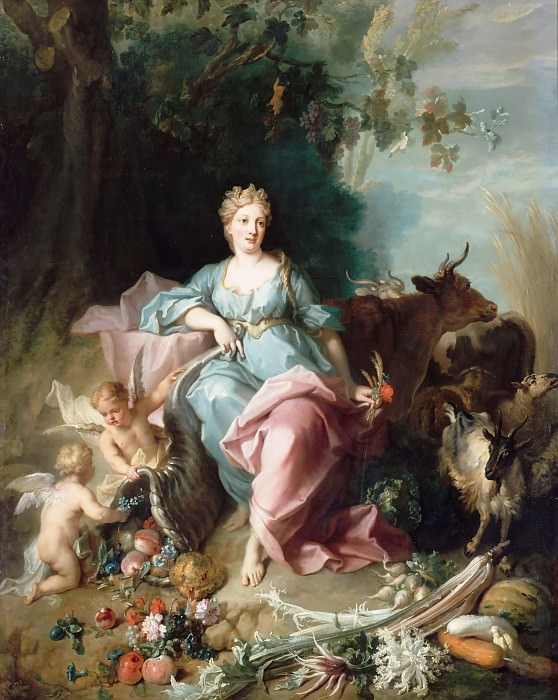 Jean-Baptiste Oudry -- Abundance. Château de Versailles