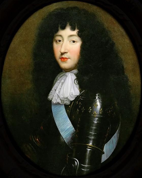 Pierre Mignard I -- Philippe, Duc d'Oreleans. Château de Versailles