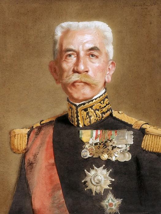 Marcel André Baschet -- Louis-Hubert-Gonzalve Lyautey. Château de Versailles