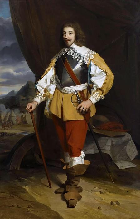 François Eduard Picot -- Henry II (1595-1632), Duc de Montmorency, Admiral of France. Château de Versailles