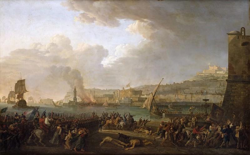 Taurel, Jacques -- Entrée de l'armée française à Naples, 21 janvier 1799. Château de Versailles
