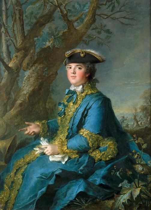 Jean-Marc Nattier -- Louise-Elisabeth of France, Duchess of Parma (1727-1759). Château de Versailles