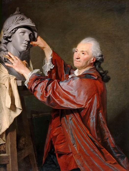 Etienne Aubry -- Louis-Claude Vassé, Sculptor. Château de Versailles