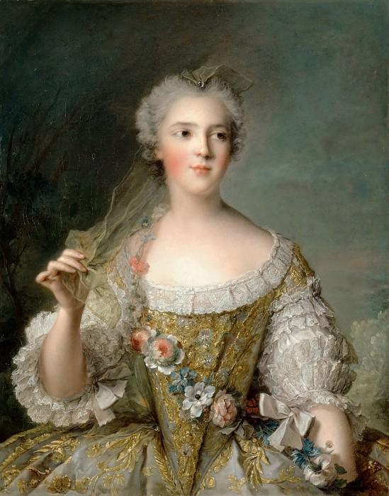 Jean-Marc Nattier -- Sophie-Philippine-Elisabeth-Justine of France, called Madame Sophie (1744-1787). Château de Versailles