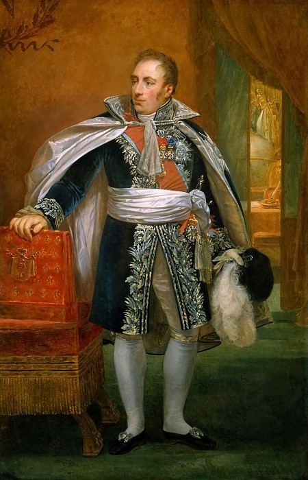 Antoine-Jean Gros -- Count Daru, General Intendant of the Emperor's House, Secretary Minister of State in Charge of the Administration of War. Château de Versailles