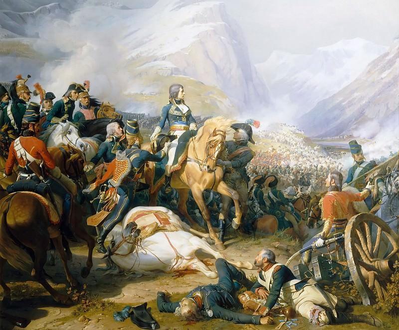 Феликс-Анри-Эммануэль Филиппото -- Битва при Риволи 14 января 1797 года. Версальский дворец