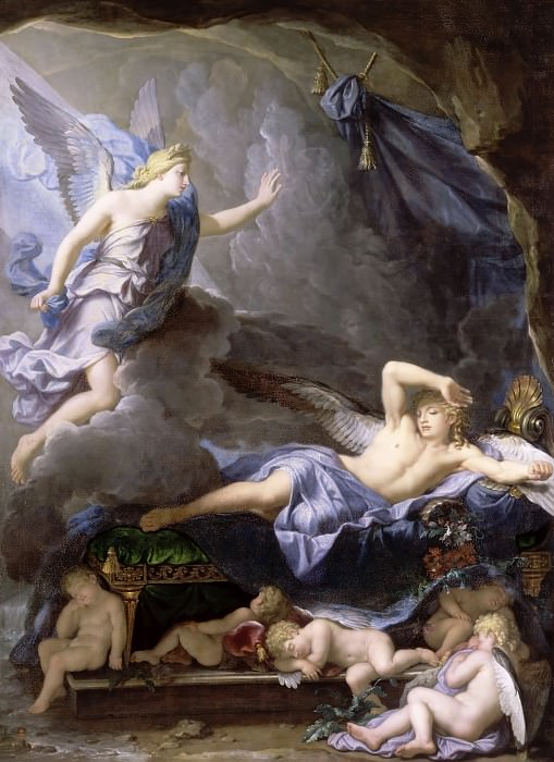 Houasse, René-Antoine -- Morphée s'éveillant à l'approche d'Iris. Château de Versailles
